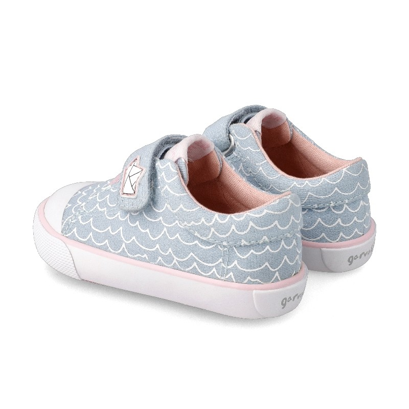 Canvas sneakers for girl  Caeli