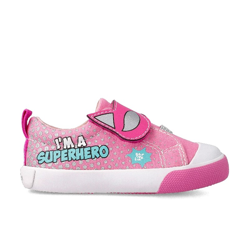 Canvas sneakers  for girl SuperGirl