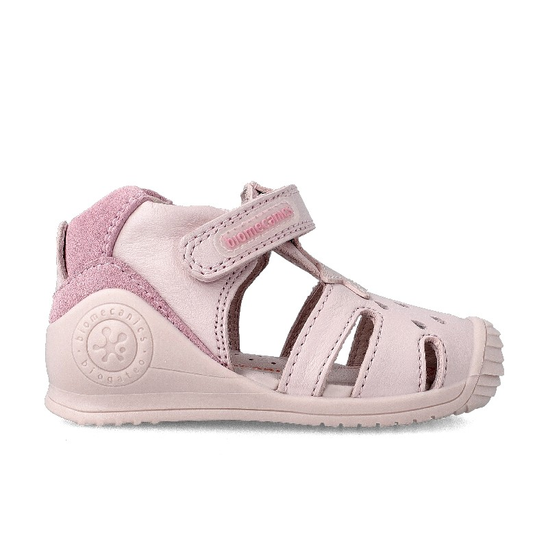 Leather sandals for girl Wendy