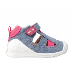 Leather sandals for baby girl Anja