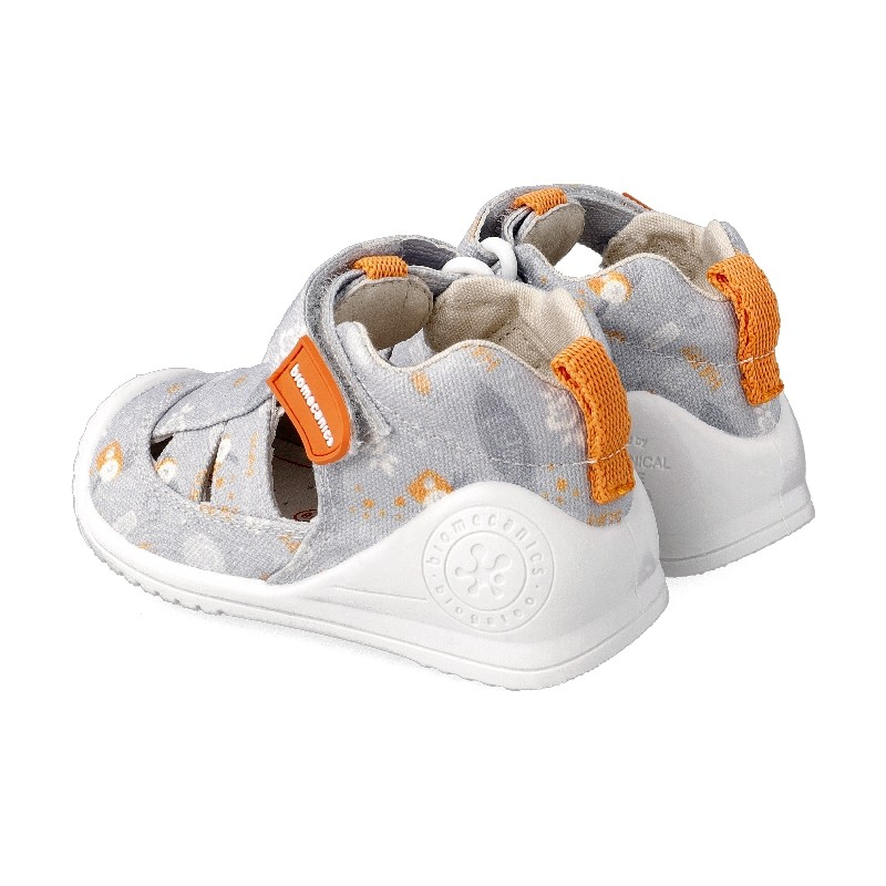 Leather sandals for baby Nic