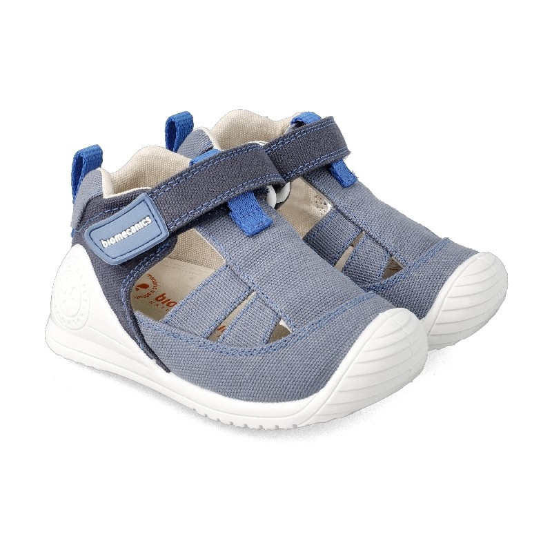Leather sandals for baby Uriel