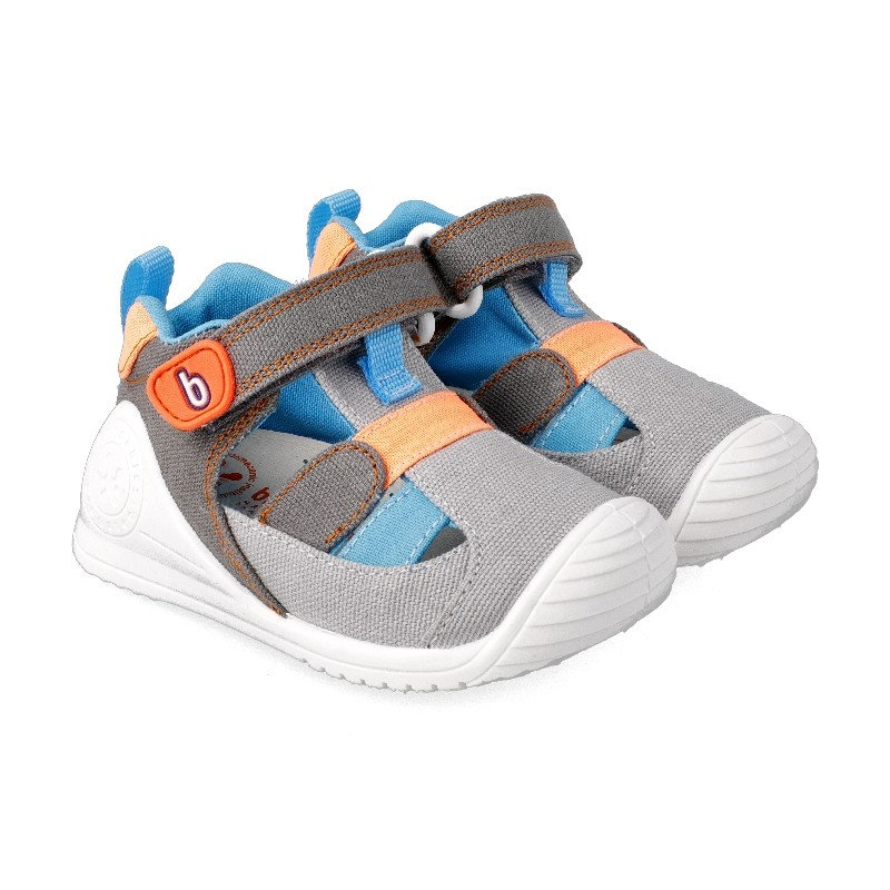 Leather sandals for baby Akab