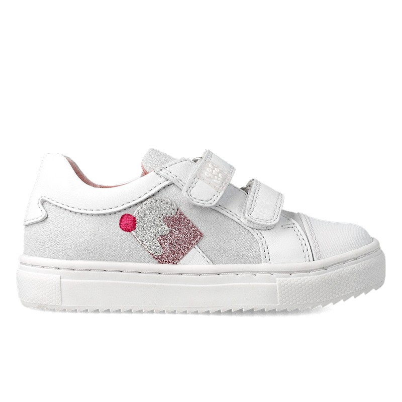 Canvas sneakers for girl Melissa