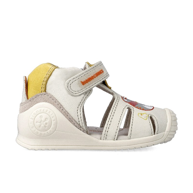 Leather sandals for baby boy Jeremy