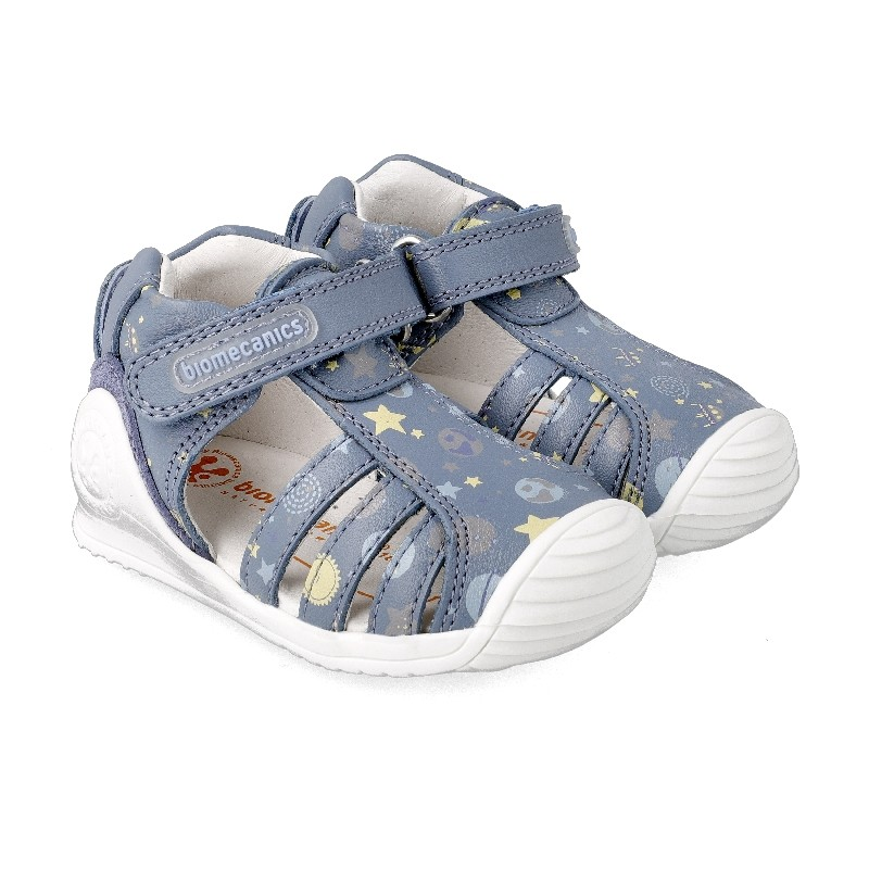 Leather sandals for baby boy Andrew