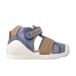 Leather sandals for baby boy Catriel