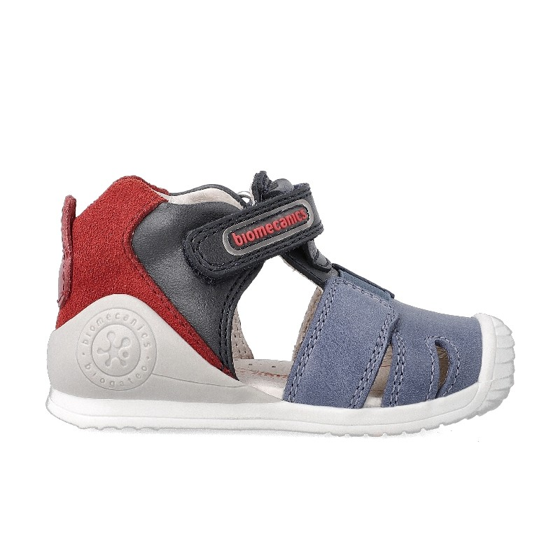 Leather sandals for baby boy Apol