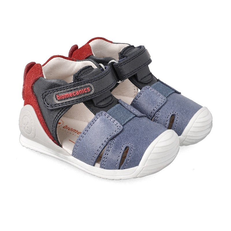 Leather sandals for baby boy Apolo