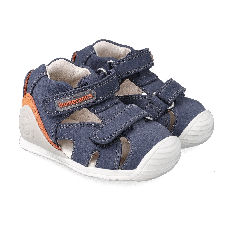 Leather sandals for baby boy Anthony