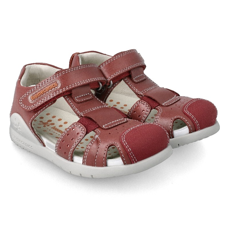Leather sandals for boy Adán