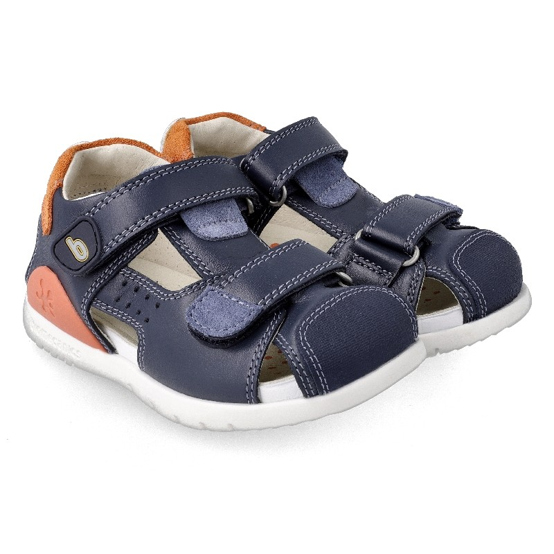 Leather sandals for boy Paolo