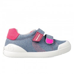 Canvas sneakers for girl Jordina