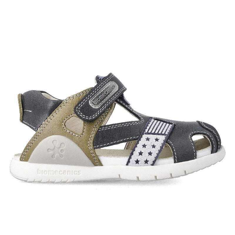 Leather sandals for boy Isaías