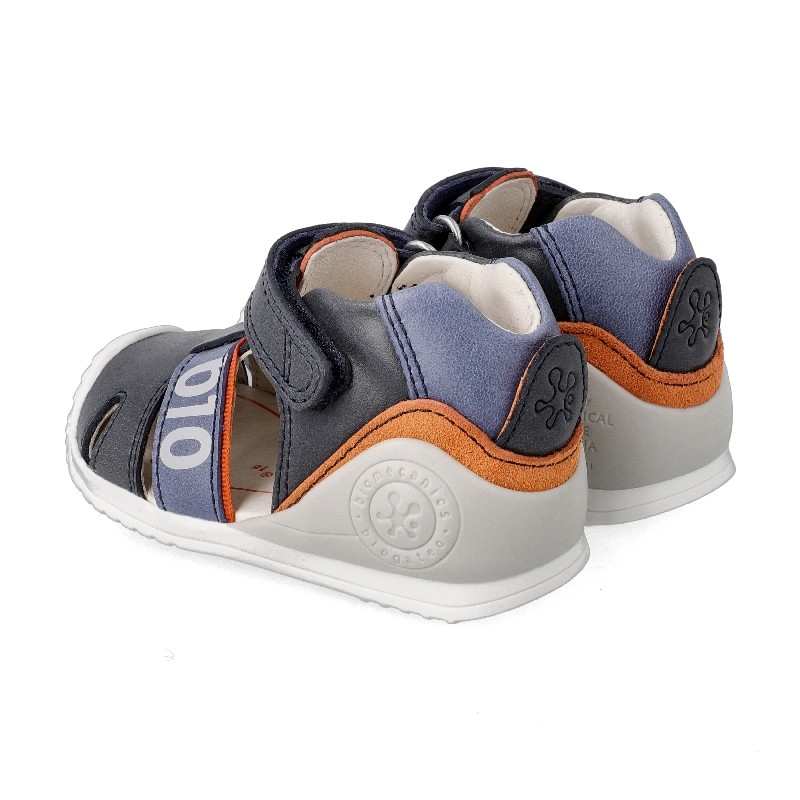 Leather sandals for baby boy Harrison
