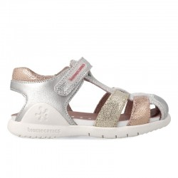 Leather sandals for girl Mirta