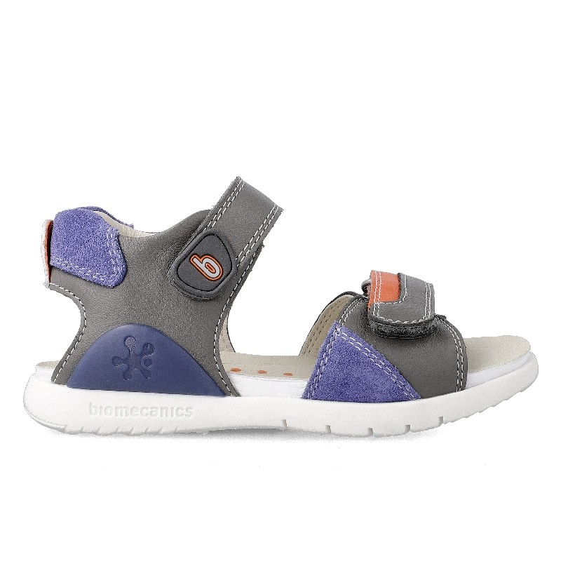 Leather sandals for boy Anxelo
