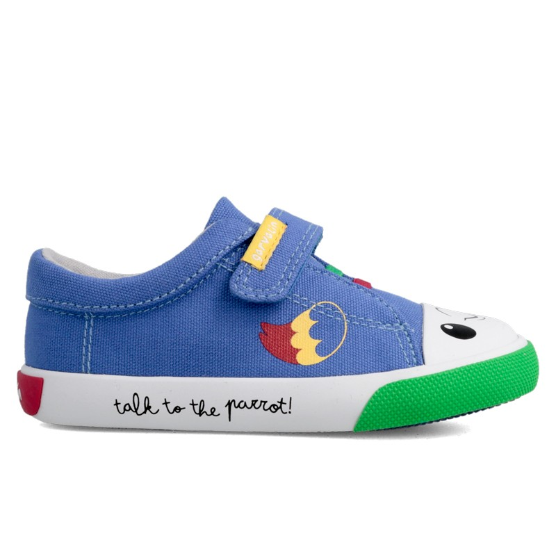 Canvas sneakers for boy and girl Gael