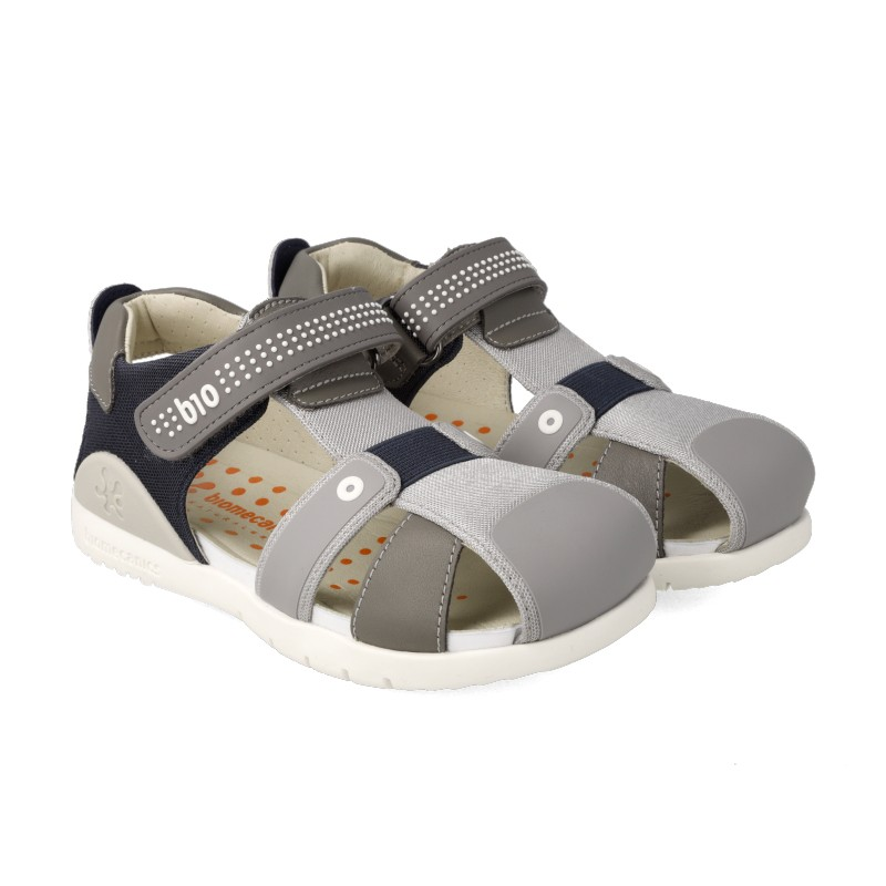 Leather sandals for boy Jared