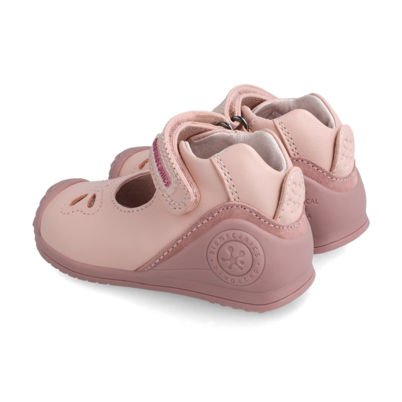 Leather baby girl shoes 211105