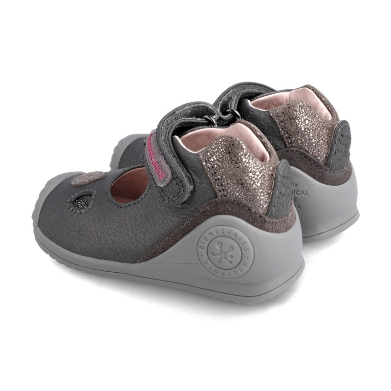 Leather baby girl shoes 211107