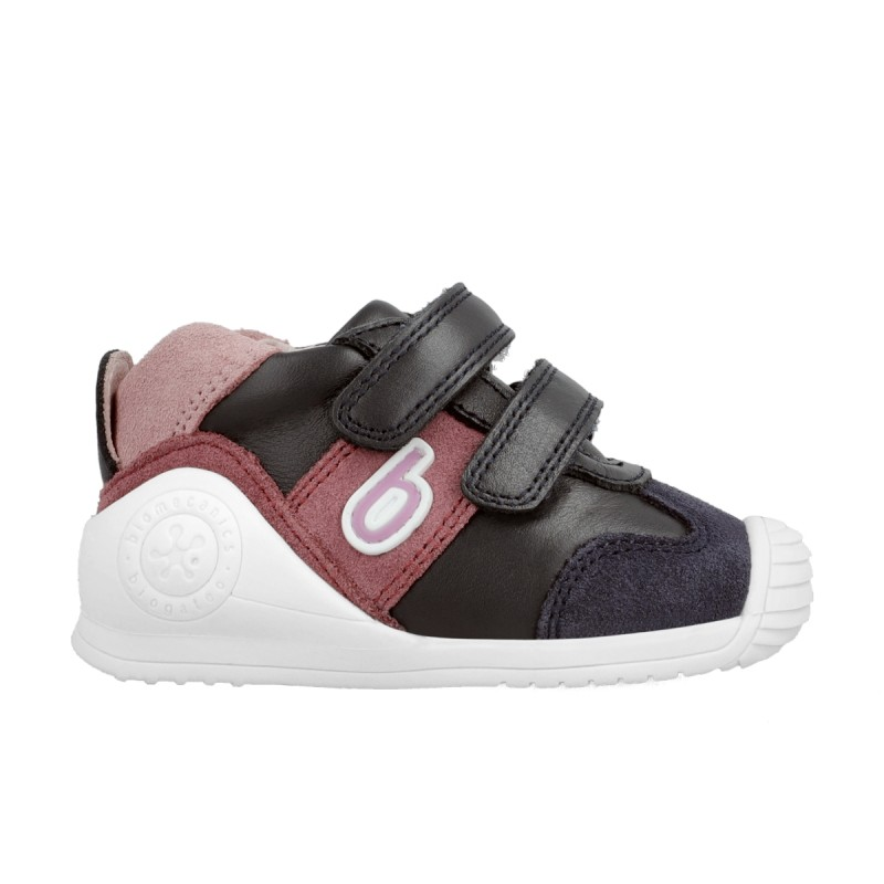 Leather sneakers for baby girl & baby boy 211127
