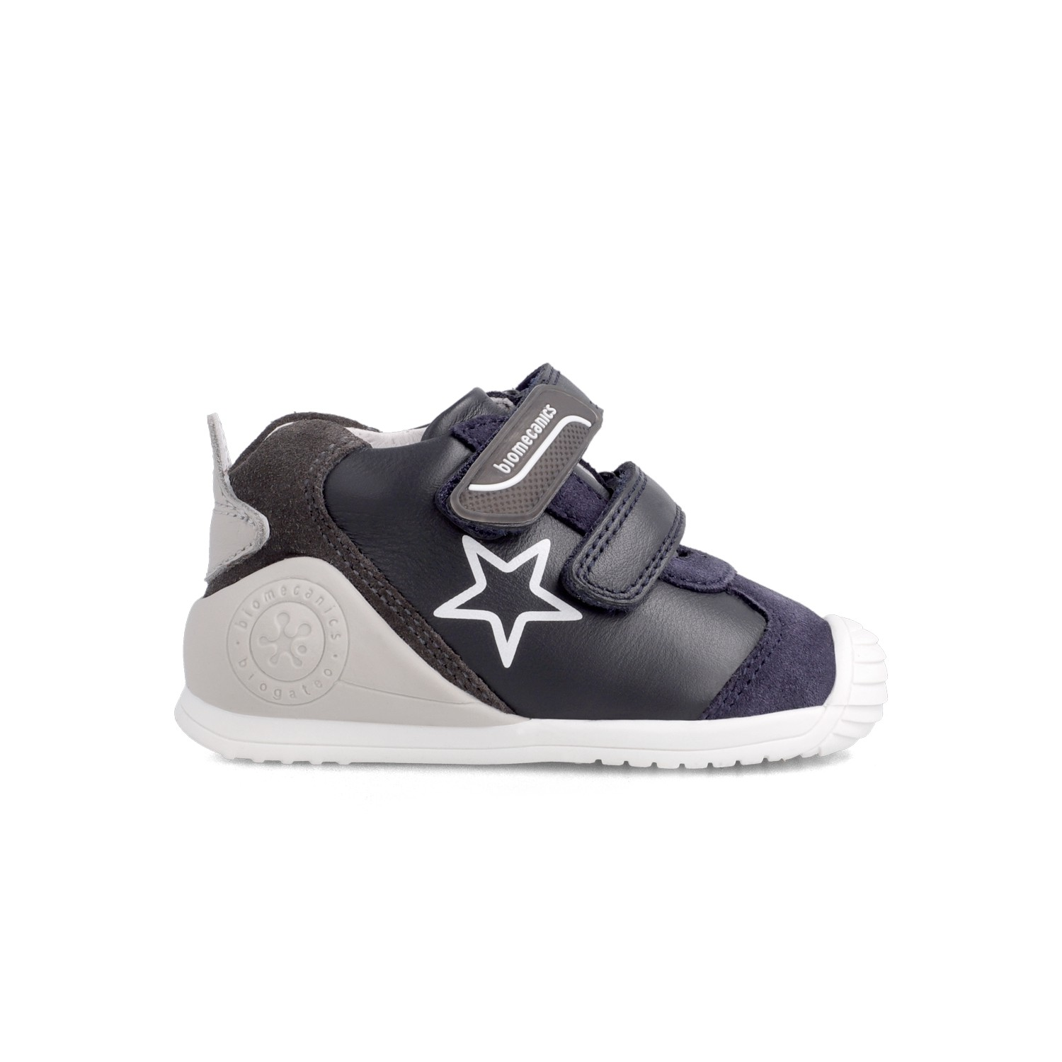 Leatrher sneakers for baby boy 211145