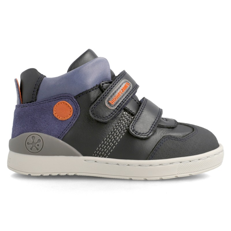 Leather ankle boot for boy  211211
