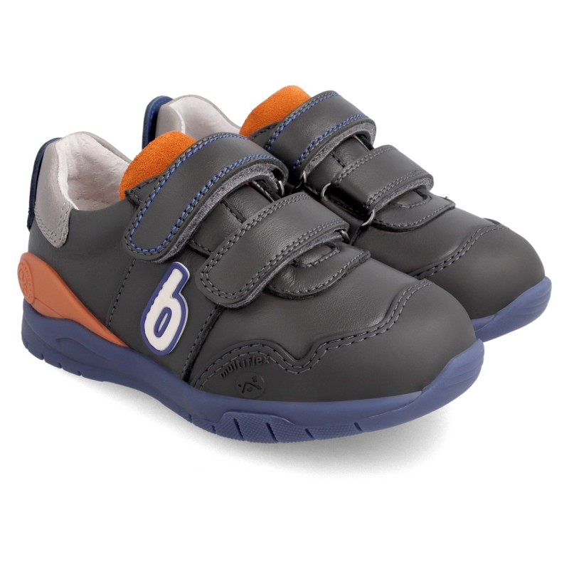 Leather sneakers for boy 211226