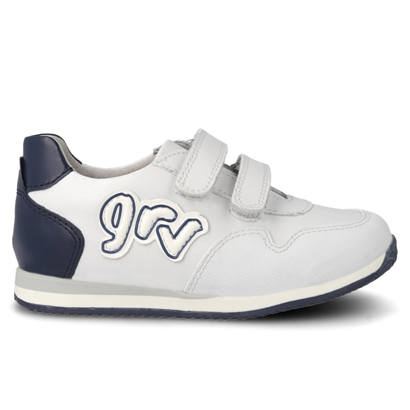 Leather trainers for kids Noe