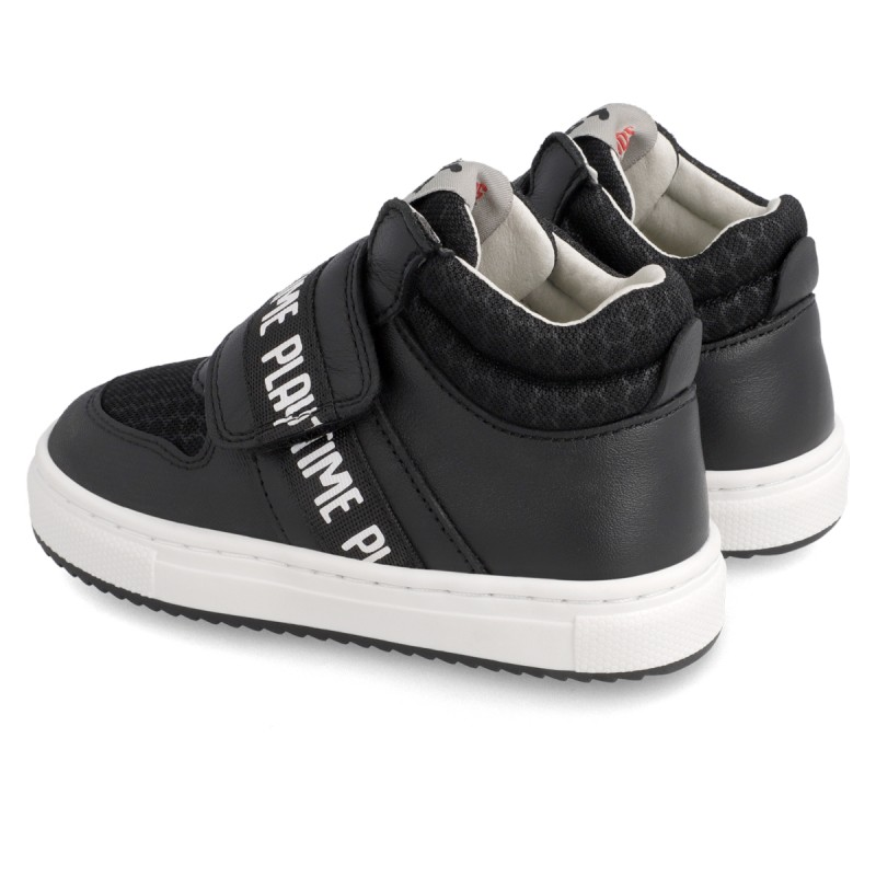 Leather ankle boot for boy  211638