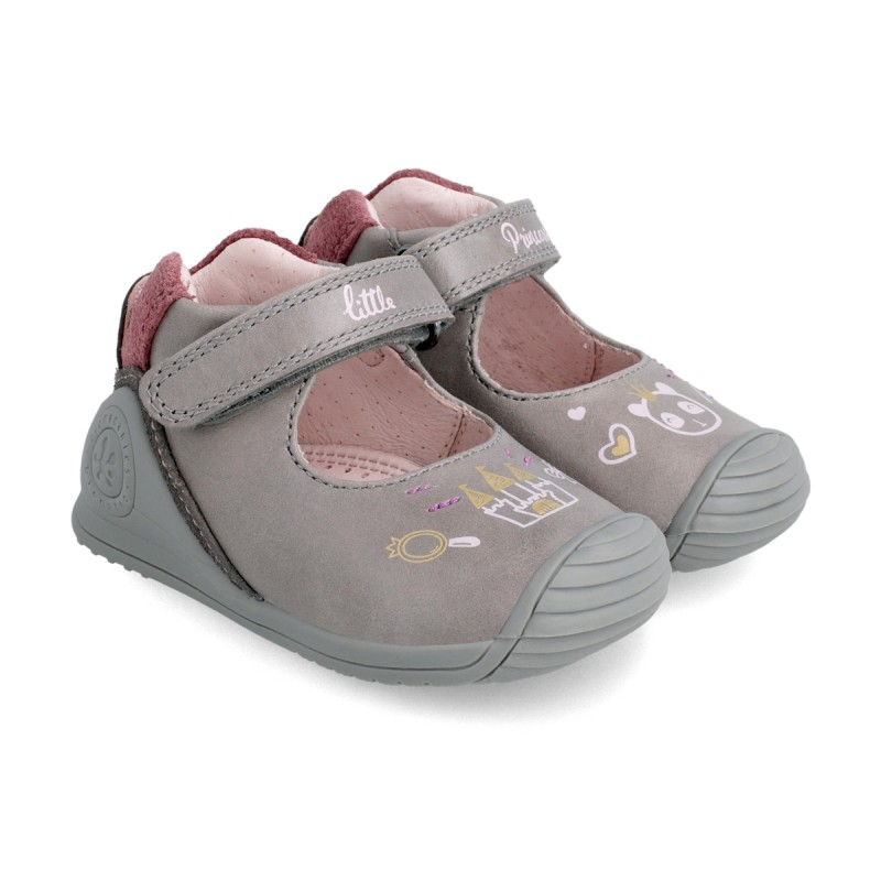 Leather baby girl shoes 211111