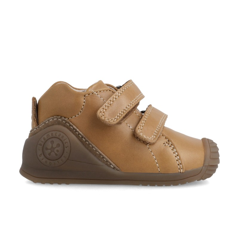 Leather ankle boots for baby boy 211135
