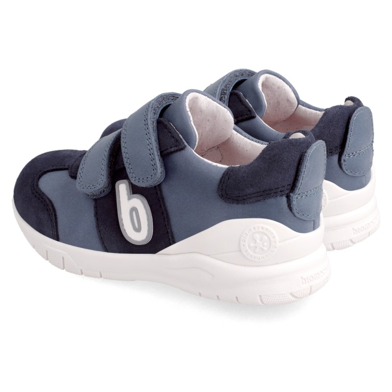 Leather sneakers for boy 211227