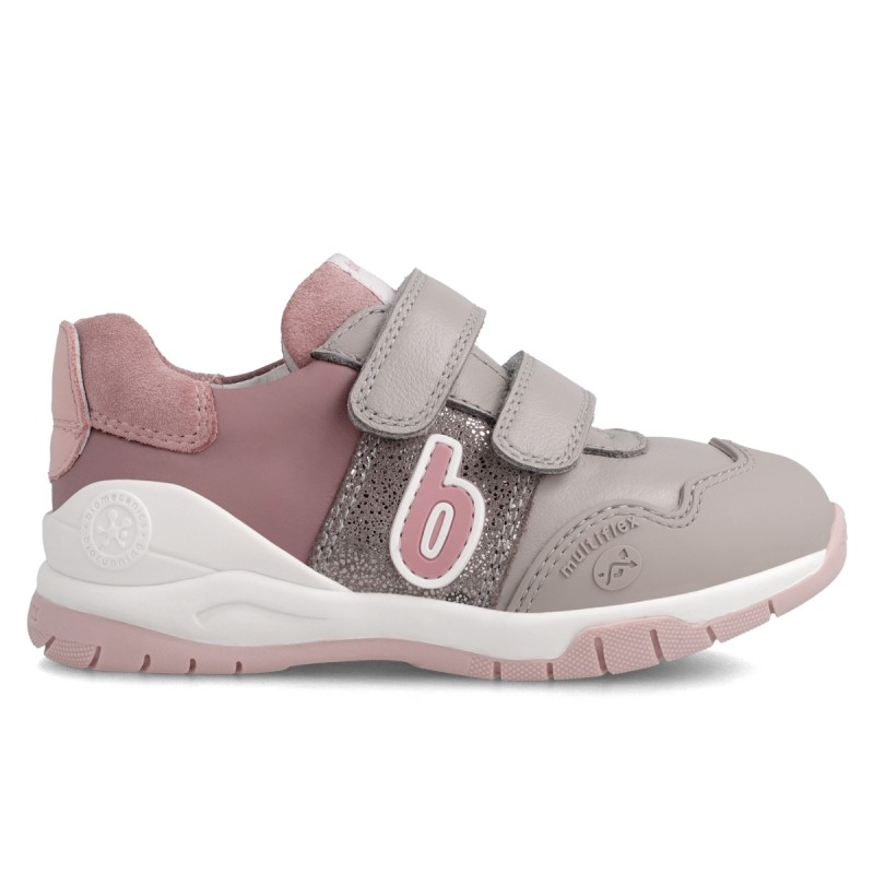 Leather sneakers for baby girl 211230