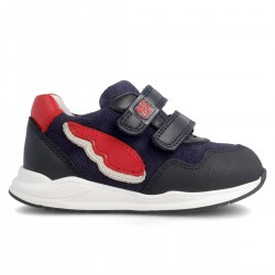 Leather sneakers for boy 211500