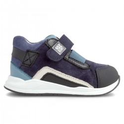 Leather sneakers for boy 211501