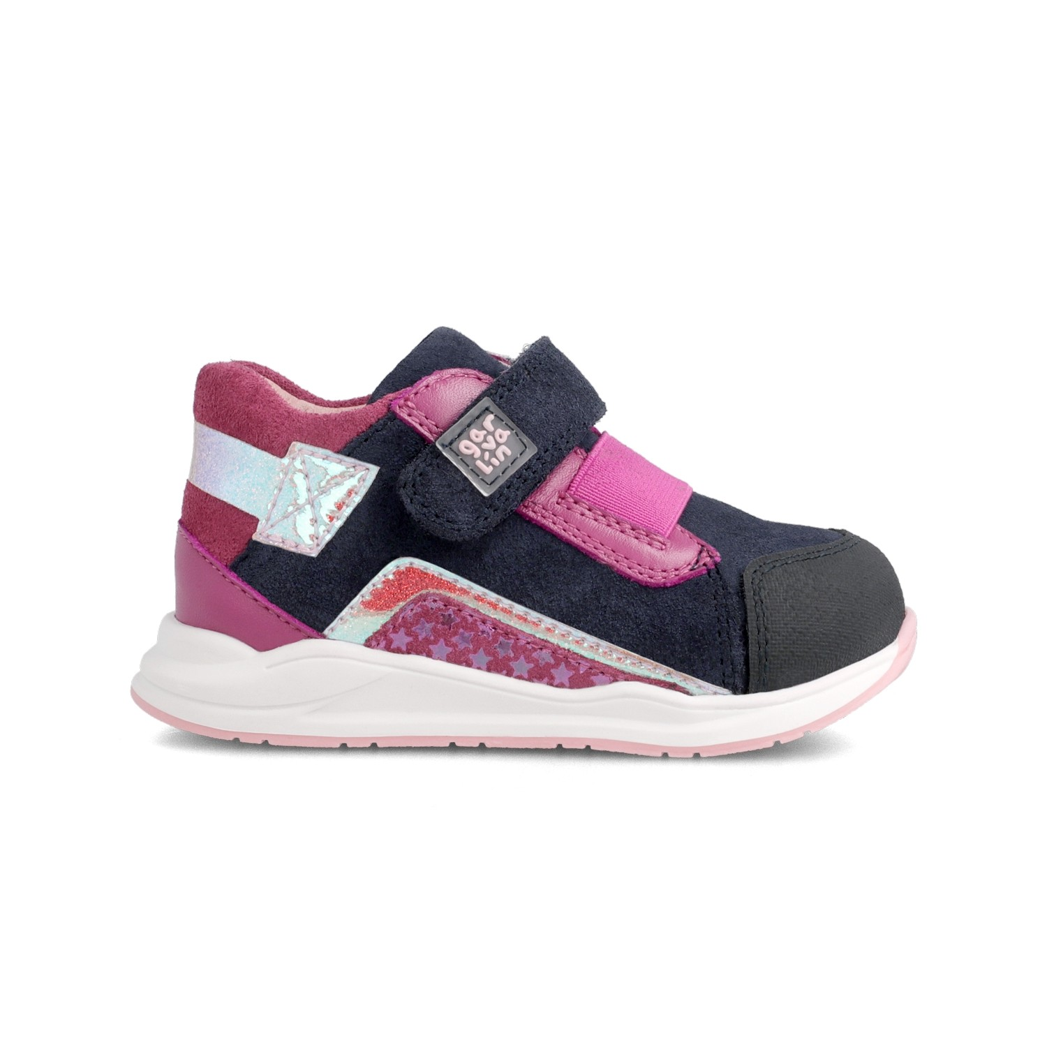 Leather sneakers for girl 211503