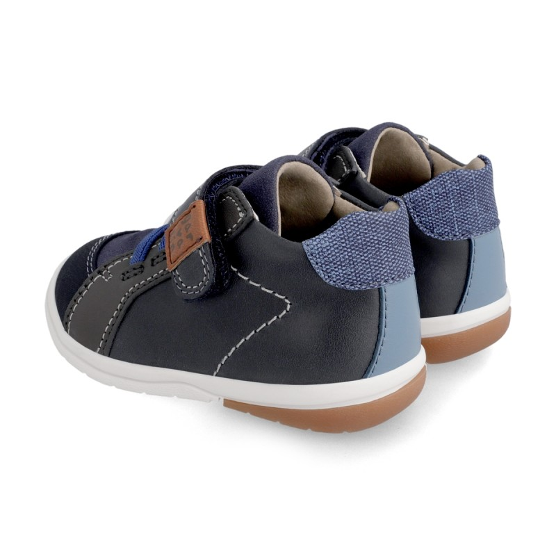 Leather ankle boot for boy  211602