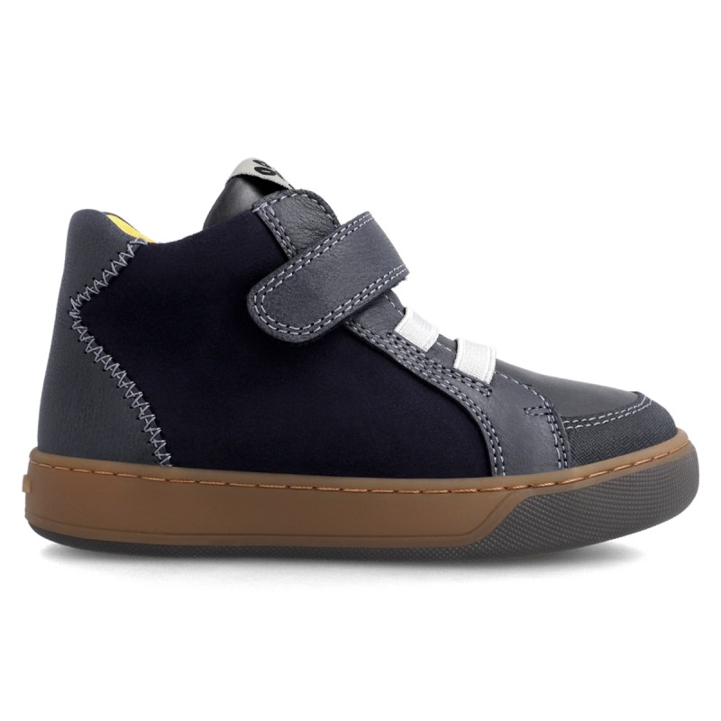 Leather ankle boot for boy 211652