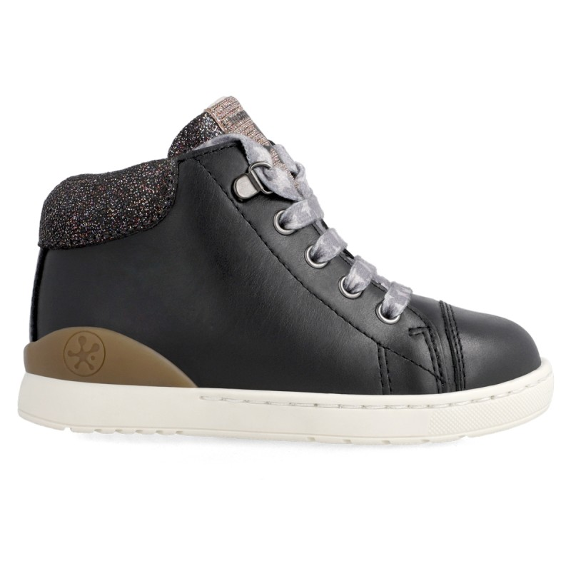 Leather ankle boot for girl 211204