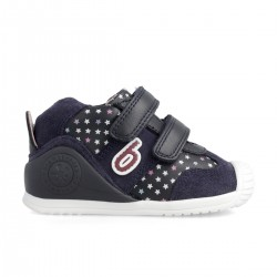 Leather sneakers for baby girl 211130