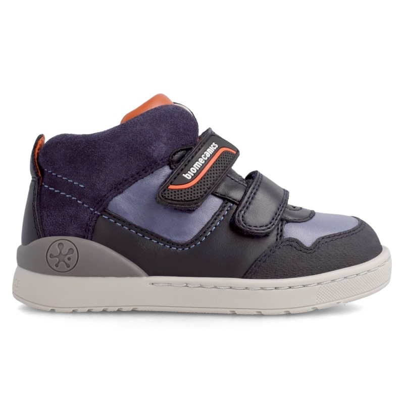 Leather ankle boot for boy  211213
