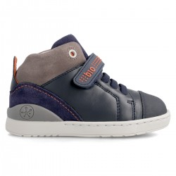 Leather ankle boot for boy  211216