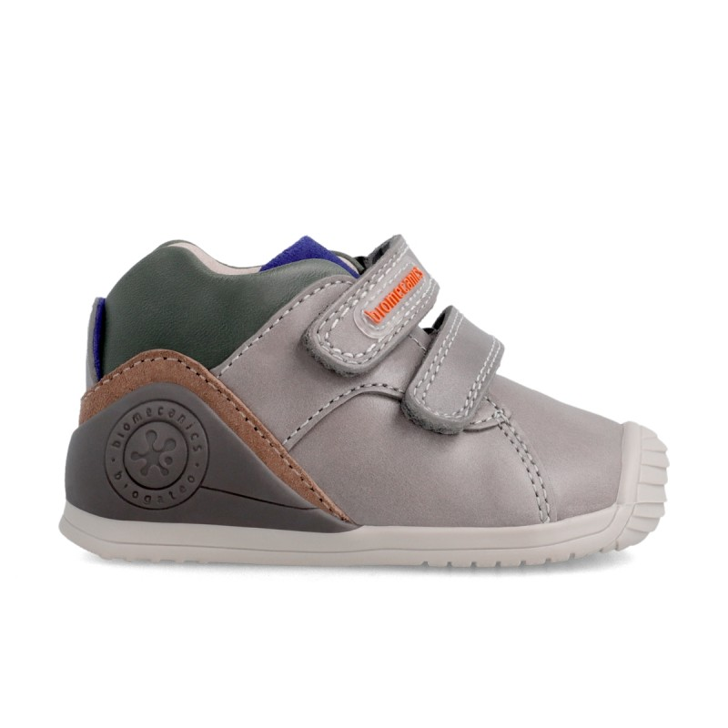 Leather ankle boots for baby boy 211137