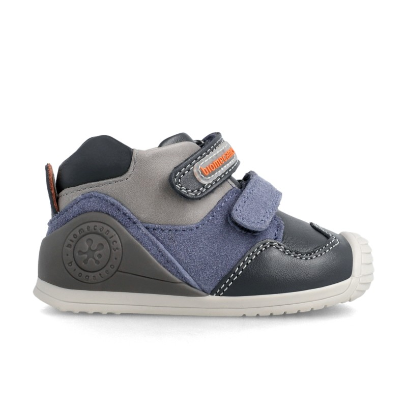 Leatrher sneakers for baby boy  211139