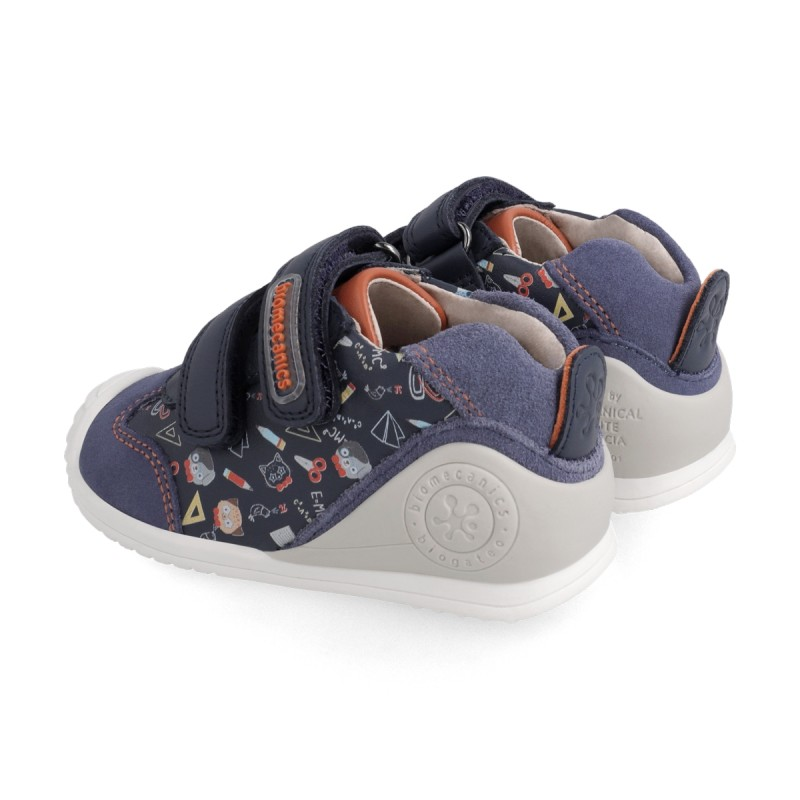 Leatrher sneakers for baby boy  211150