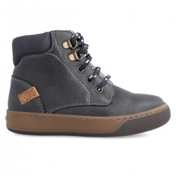 Leather ankle boot for boy  211653