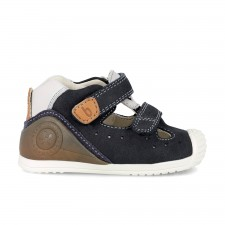 Leather shoes for babies Ezio