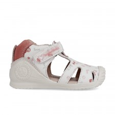 Leather sandals for baby girl Noa